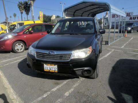 2010 Subaru Forester for sale at Best Deal Auto Sales in Stockton CA