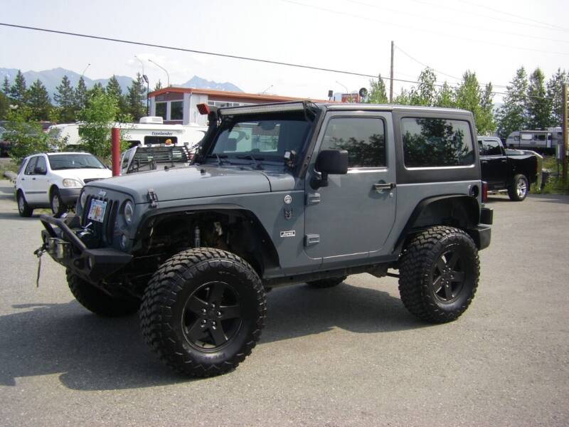 2014 Jeep Wrangler for sale at NORTHWEST AUTO SALES LLC in Anchorage AK