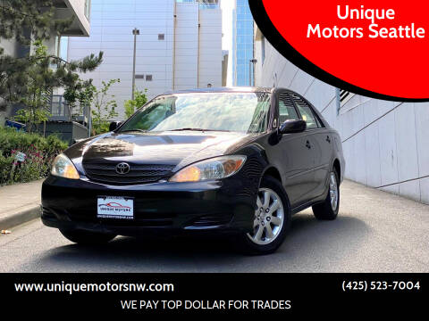 2002 Toyota Camry for sale at Unique Motors Seattle in Bellevue WA