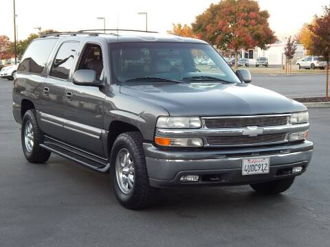 2001 Chevrolet Suburban for sale at Gilroy Motorsports in Gilroy CA