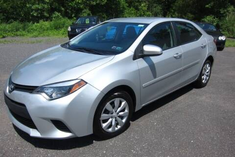 2014 Toyota Corolla for sale at K & R Auto Sales,Inc in Quakertown PA