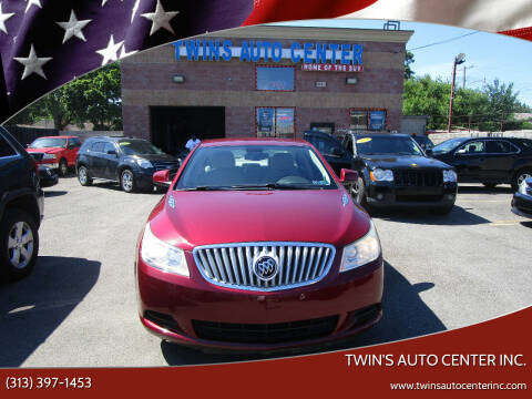 2011 Buick LaCrosse for sale at Twin's Auto Center Inc. in Detroit MI