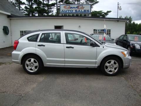 2007 Dodge Caliber for sale at G and G AUTO SALES in Merrill WI