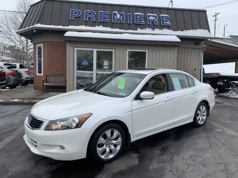 2009 Honda Accord for sale at Premiere Auto Sales in Washington PA