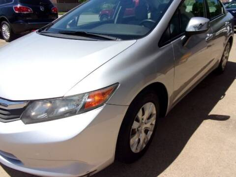 2012 Honda Civic for sale at MESQUITE AUTOPLEX in Mesquite TX