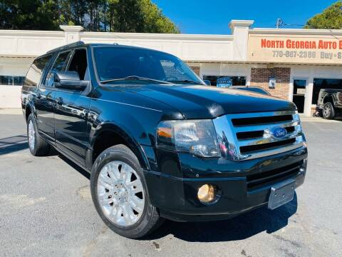 2013 Ford Expedition EL for sale at North Georgia Auto Brokers in Snellville GA