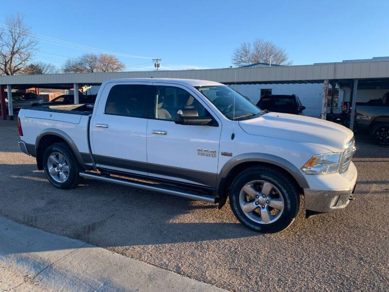 2015 RAM Ram Pickup 1500 for sale at Faw Motor Co in Cambridge NE