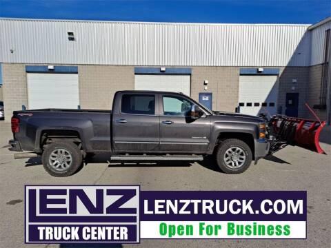 2016 Chevrolet Silverado 2500HD for sale at LENZ TRUCK CENTER in Fond Du Lac WI