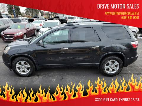 2012 GMC Acadia for sale at Drive Motor Sales in Ionia MI