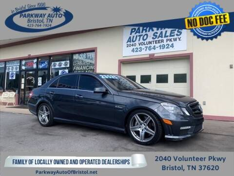 2010 Mercedes-Benz E-Class for sale at PARKWAY AUTO SALES OF BRISTOL in Bristol TN