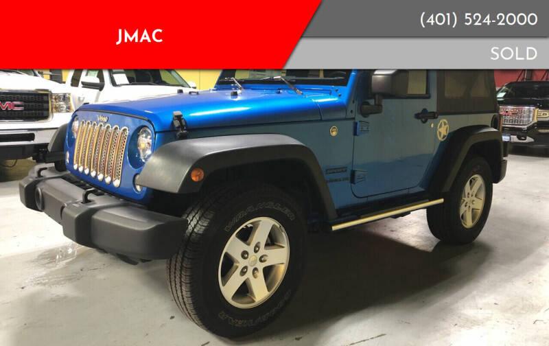 2016 Jeep Wrangler for sale at JMAC in Attleboro MA