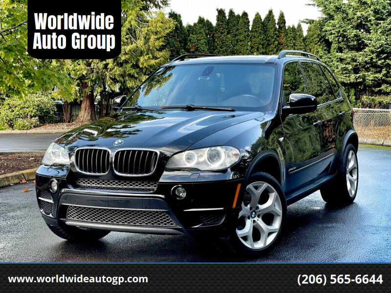 2012 BMW X5 for sale at Worldwide Auto Group in Auburn WA