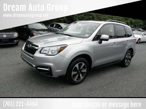 2018 Subaru Forester for sale at Dream Auto Group in Dumfries VA