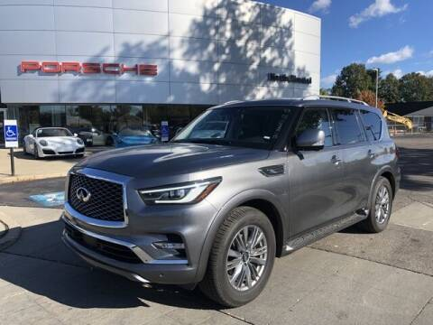 2020 Infiniti QX80 for sale at PORSCHE OF NORTH OLMSTED in North Olmsted OH