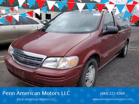 2003 Chevrolet Venture for sale at Penn American Motors LLC in Allentown PA