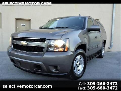 2011 Chevrolet Suburban for sale at Selective Motor Cars in Miami FL