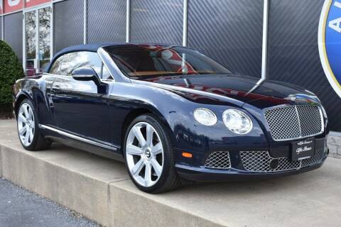 2012 Bentley Continental for sale at Alfa Romeo & Fiat of Strongsville in Strongsville OH