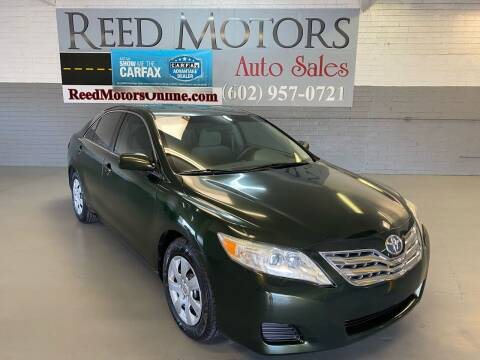 2010 Toyota Camry for sale at REED MOTORS LLC in Phoenix AZ