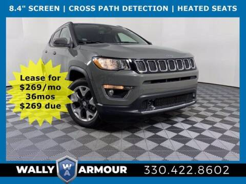 2021 Jeep Compass for sale at Wally Armour Chrysler Dodge Jeep Ram in Alliance OH