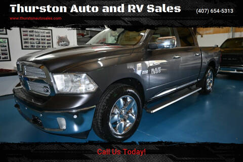 2018 RAM Ram Pickup 1500 for sale at Thurston Auto and RV Sales in Clermont FL