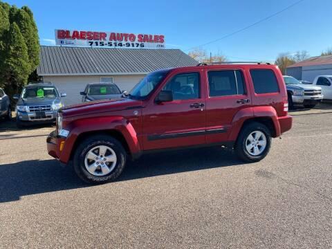 2012 Jeep Liberty for sale at BLAESER AUTO LLC in Chippewa Falls WI