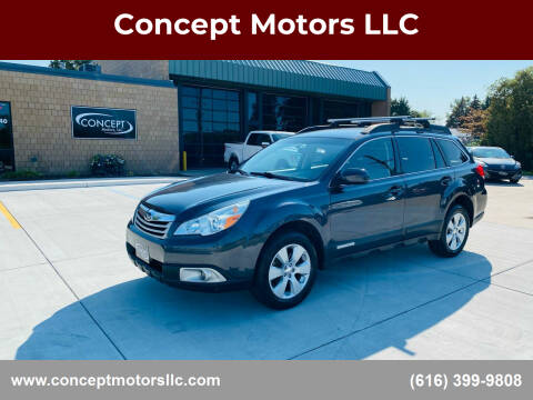 2010 Subaru Outback for sale at Concept Motors LLC in Holland MI