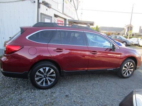 2015 Subaru Outback for sale at G&R Auto Sales in Lynnwood WA