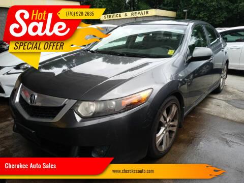 2010 Acura TSX for sale at Cherokee Auto Sales in Acworth GA