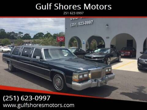 1981 Cadillac DeVille for sale at Gulf Shores Motors in Gulf Shores AL