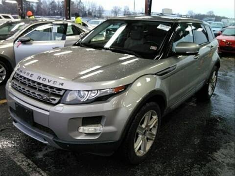 2013 Land Rover Range Rover Evoque for sale at Dad's Auto Sales in Newport News VA