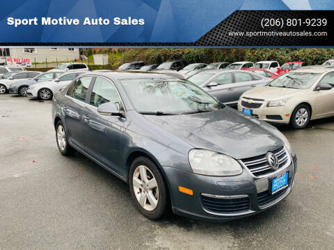 2008 Volkswagen Jetta for sale at Sport Motive Auto Sales in Seattle WA