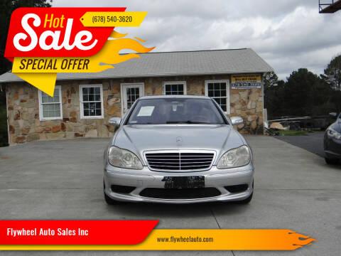 2006 Mercedes-Benz S-Class for sale at Flywheel Auto Sales Inc in Woodstock GA