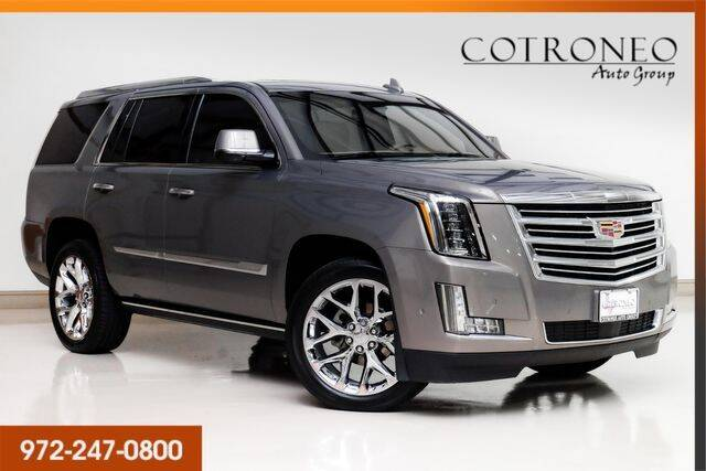 2018 Cadillac Escalade for sale at COTRONEO AUTO GROUP in Addison TX