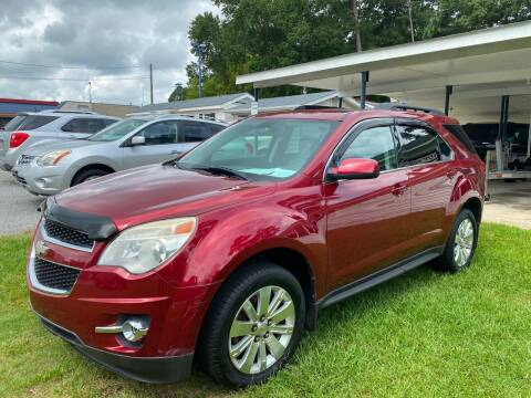 2010 Chevrolet Equinox for sale at Robert Sutton Motors in Goldsboro NC