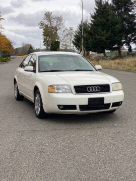 2004 Audi A6 for sale at Washington Auto Sales in Tacoma WA