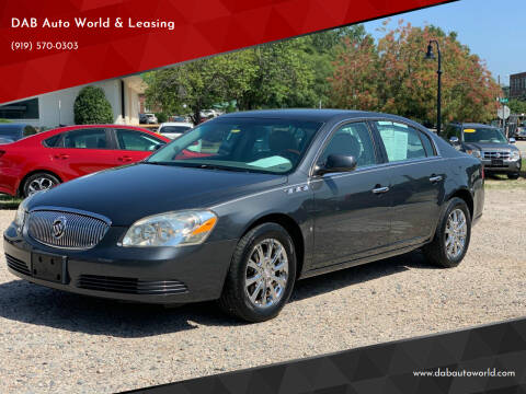 2009 Buick Lucerne for sale at DAB Auto World & Leasing in Wake Forest NC