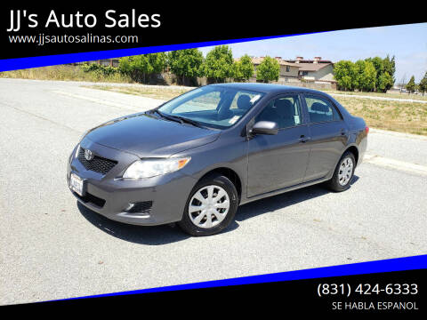 2010 Toyota Corolla for sale at JJ's Auto Sales in Salinas CA