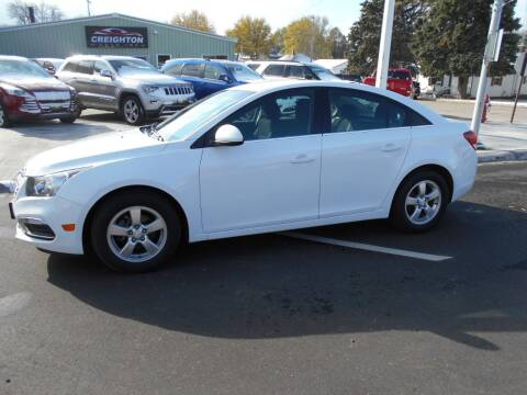 2016 Chevrolet Cruze Limited for sale at Creighton Auto & Body Shop in Creighton NE