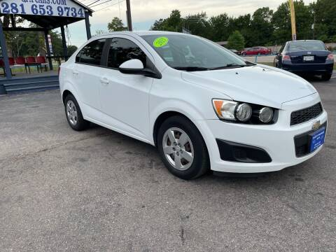 2015 Chevrolet Sonic for sale at QUALITY PREOWNED AUTO in Houston TX