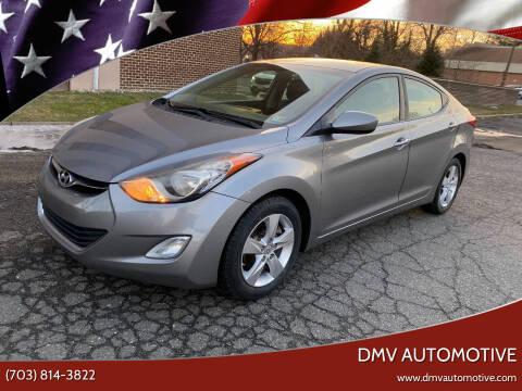 2012 Hyundai Elantra for sale at DMV Automotive in Falls Church VA