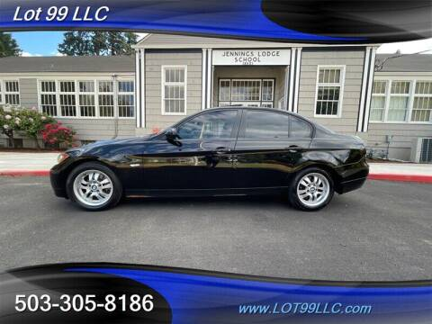 2007 BMW 3 Series for sale at LOT 99 LLC in Milwaukie OR