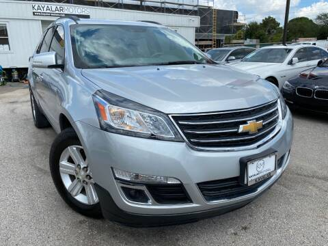 2013 Chevrolet Traverse for sale at KAYALAR MOTORS Mechanic in Houston TX