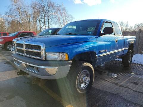 1999 Dodge Ram Pickup 2500 for sale at J's Auto Exchange in Derry NH