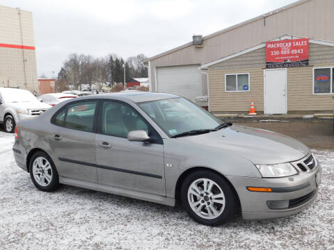 2006 Saab 9-3 for sale at Macrocar Sales Inc in Akron OH