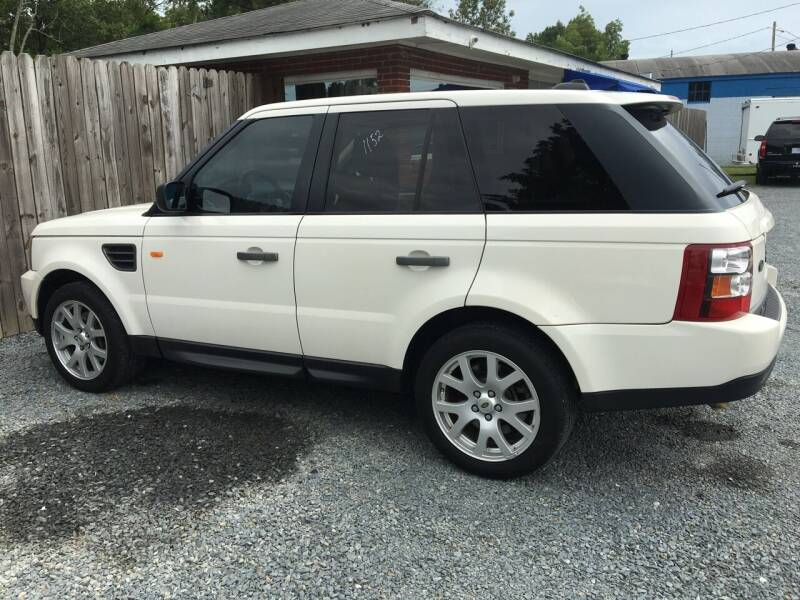 2008 Land Rover Range Rover Sport for sale at LAURINBURG AUTO SALES in Laurinburg NC