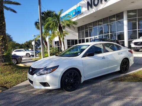 2018 Nissan Altima for sale at Mazda of North Miami in Miami FL