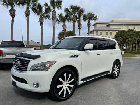 2013 Infiniti QX56 for sale at Gulf Financial Solutions Inc DBA GFS Autos in Panama City Beach FL