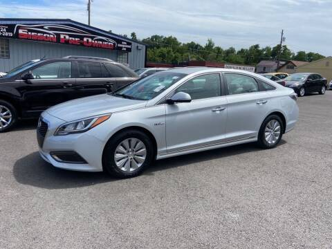 2016 Hyundai Sonata Hybrid for sale at Sisson Pre-Owned in Uniontown PA