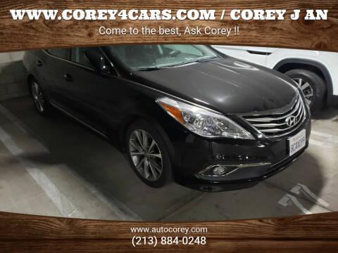 2017 Hyundai Azera for sale at WWW.COREY4CARS.COM / COREY J AN in Los Angeles CA