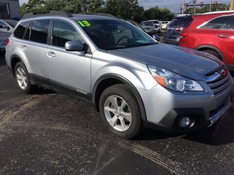2013 Subaru Outback for sale at Rinaldi Auto Sales Inc in Taylor PA